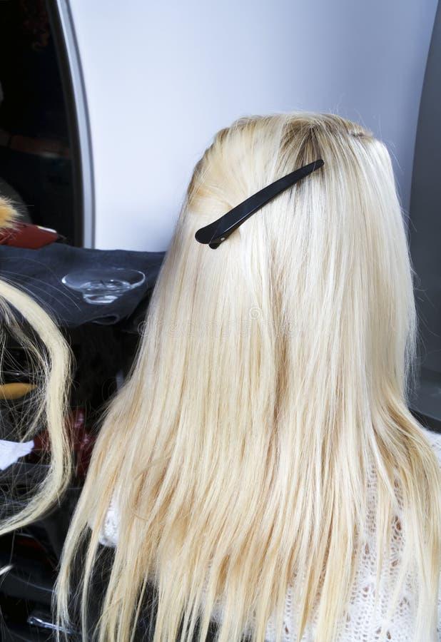 Extensões 2 do cabelo imagens de stock royalty free