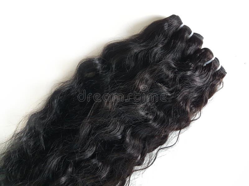 Extensões do cabelo foto de stock royalty free