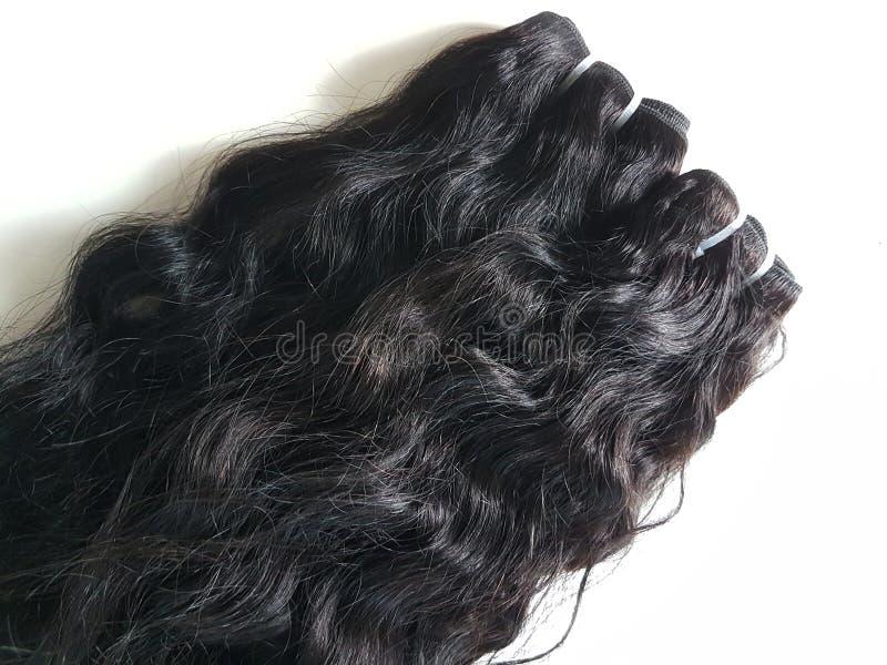 Extensões do cabelo fotografia de stock royalty free