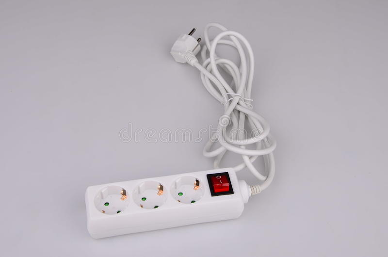 Download Extension cord stock photo. Image of gray, conservation - 32576878