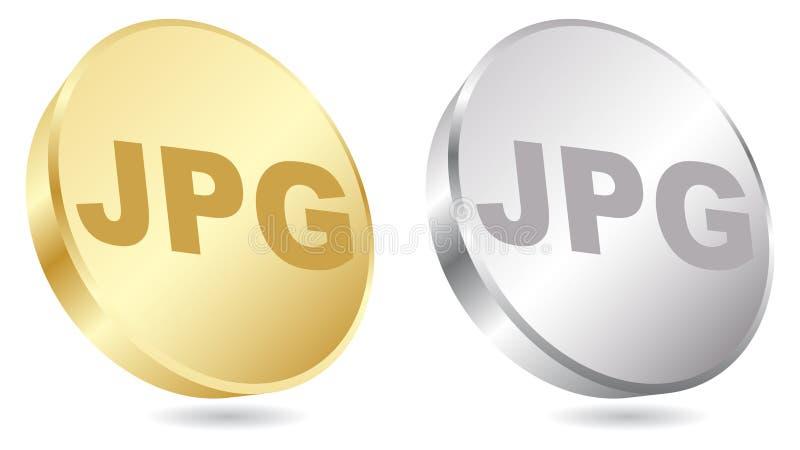 Extension de Jpg illustration stock