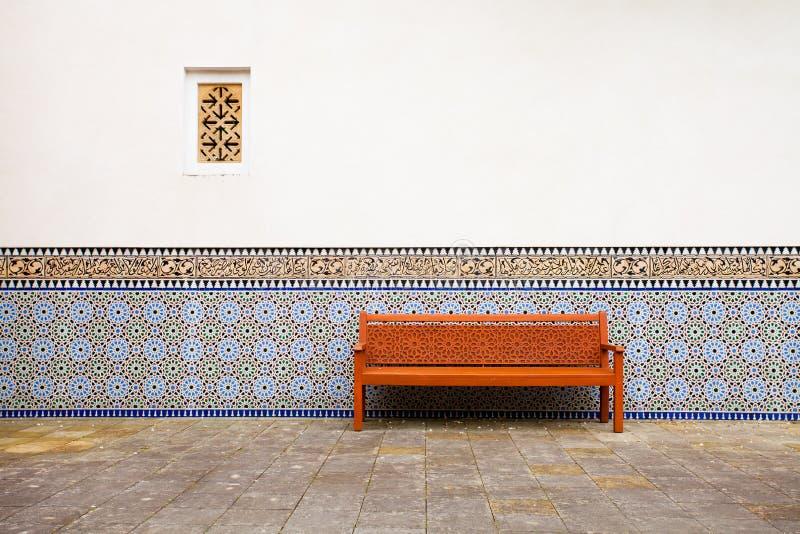 Exterior árabe imagem de stock