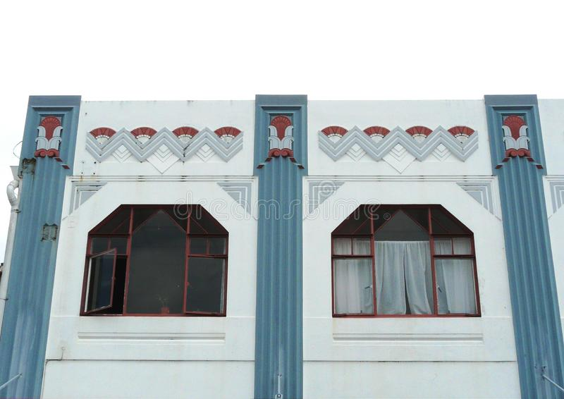 Download Exterior Of An Art-Deco Building Stock Photo - Image: 13464052