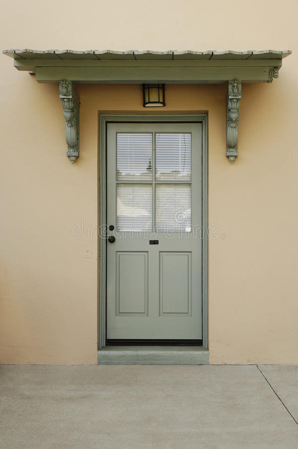 download exterior of a back door stock photo image of condominium