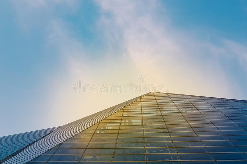 Exterior of Building Glass royalty free stock image