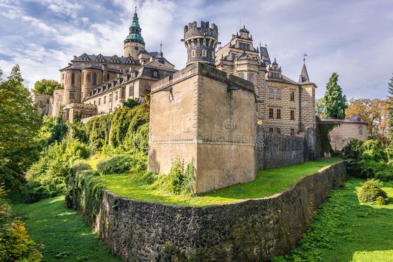 Download Castle in Czech Republic stock image. Image of place - 107056921