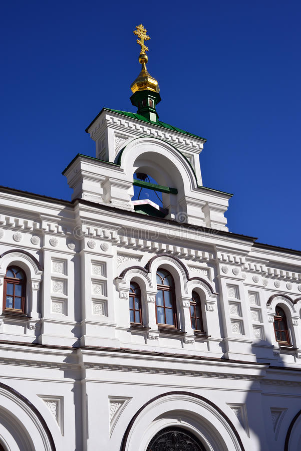Exterior of Cathedral of the Dormition. Kyiv royalty free stock images