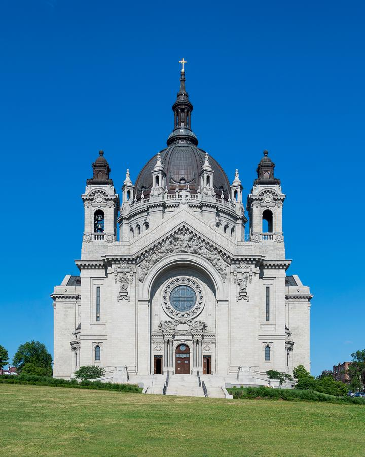 Cathedral of St. Paul stock photography