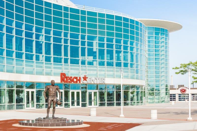 Exterior Center de Resch imagem de stock royalty free