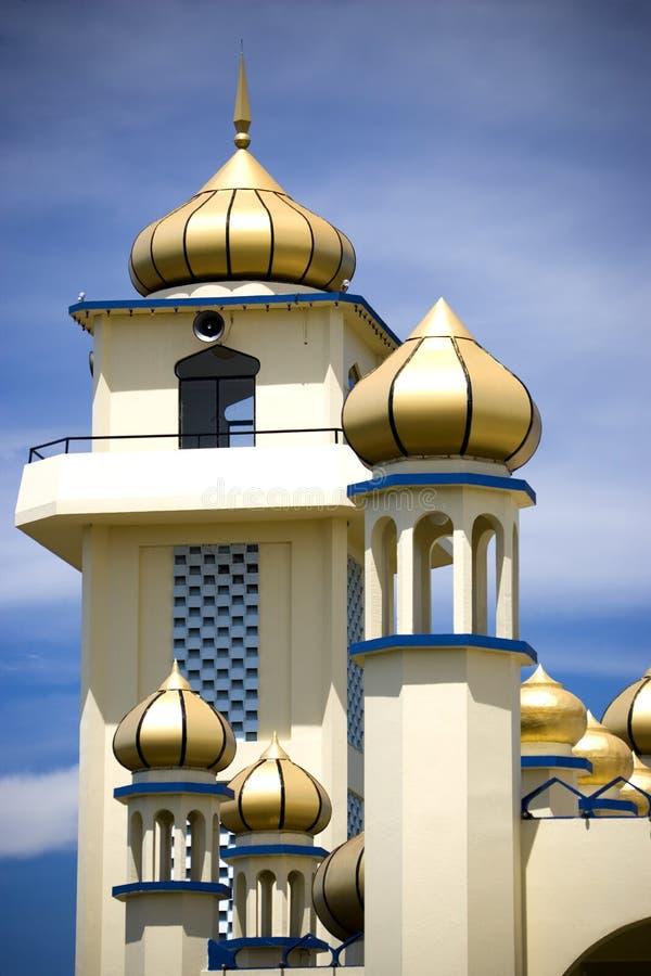 Exterior da mesquita velha foto de stock