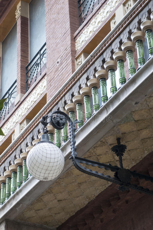 Exterior de Barcelona foto de stock