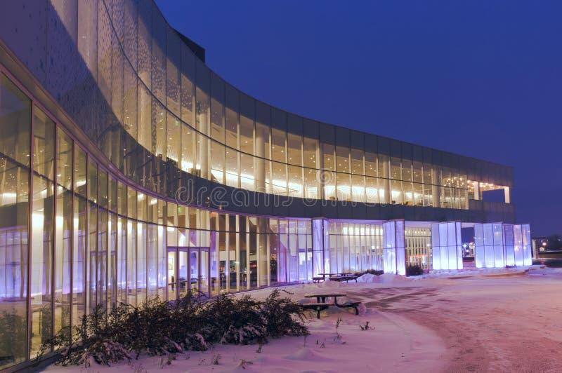Exterior de centro de las artes interpretativas fotos de archivo libres de regalías