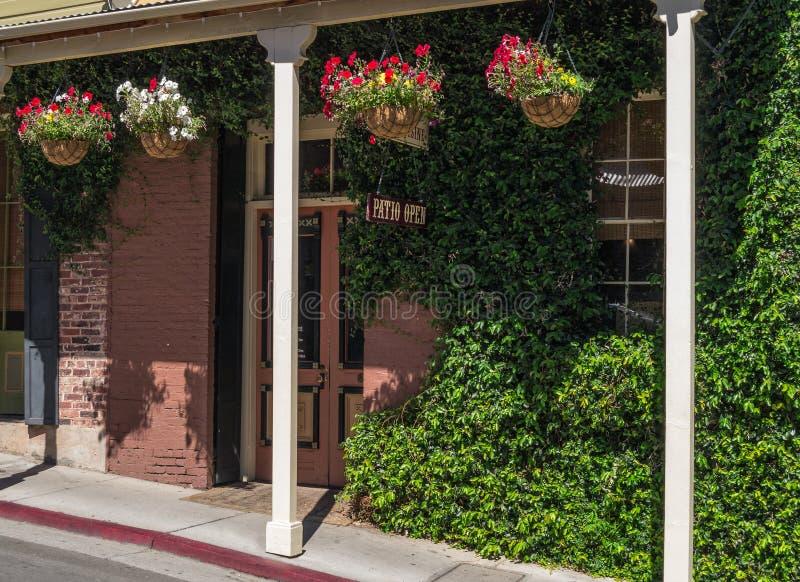 Exterior de convite do restaurante fotografia de stock royalty free