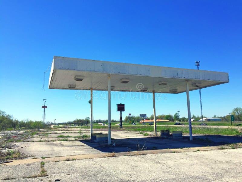 Exterior 4 de la gasolinera de Missouri fotos de archivo libres de regalías