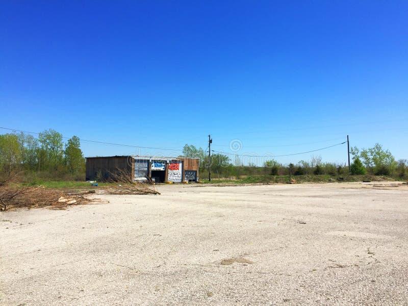 Exterior 2 de la gasolinera de Missouri imágenes de archivo libres de regalías