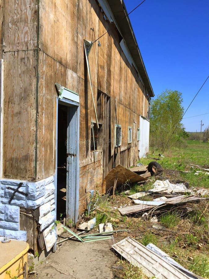 Exterior 3 de la gasolinera de Missouri imagen de archivo libre de regalías