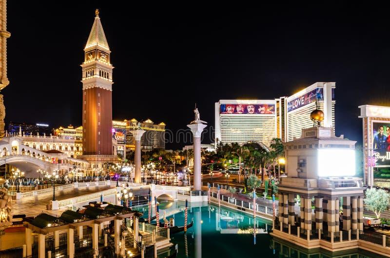Exterior de Las Vegas veneciano fotografía de archivo