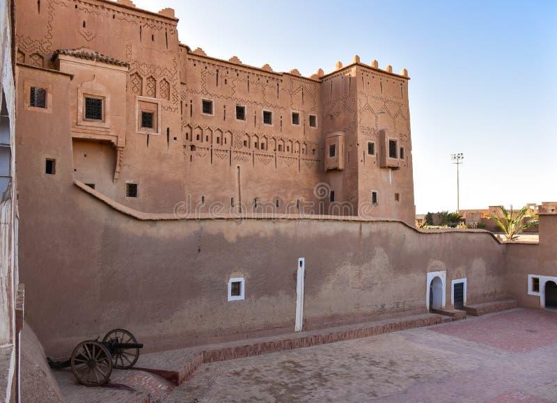 Exterior de Taourirt Kasbah imagenes de archivo