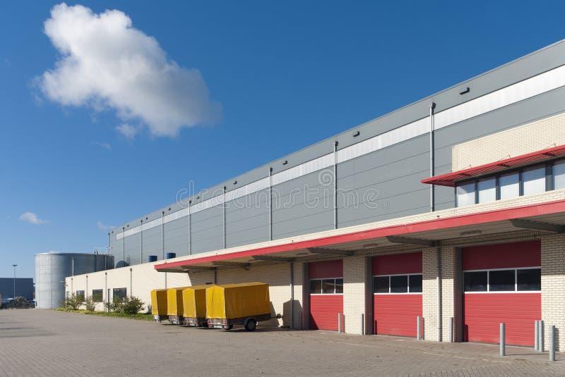 Exterior de Warehouse fotos de archivo libres de regalías