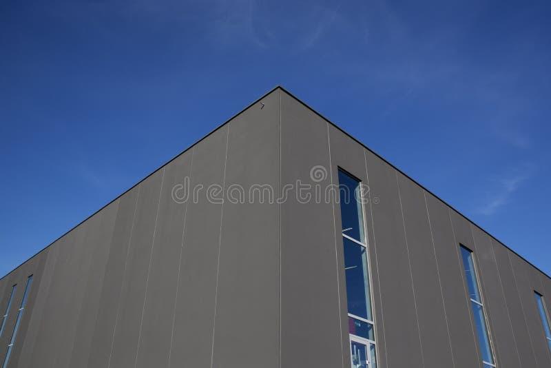 Exterior de Warehouse foto de archivo libre de regalías