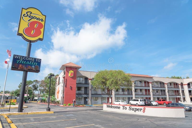 Exterior 8 del hotel estupendo en Austin, Tejas, los E.E.U.U. imagen de archivo