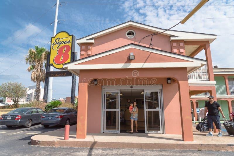 Exterior 8 del hotel estupendo en Austin, Tejas, los E.E.U.U. foto de archivo