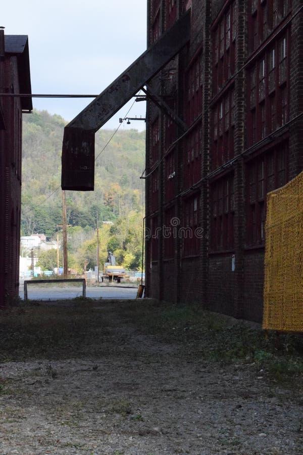 exterior del molino, Bethlehem Steel imagenes de archivo