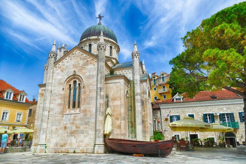 Exterior del St Michael Archangel Church foto de archivo