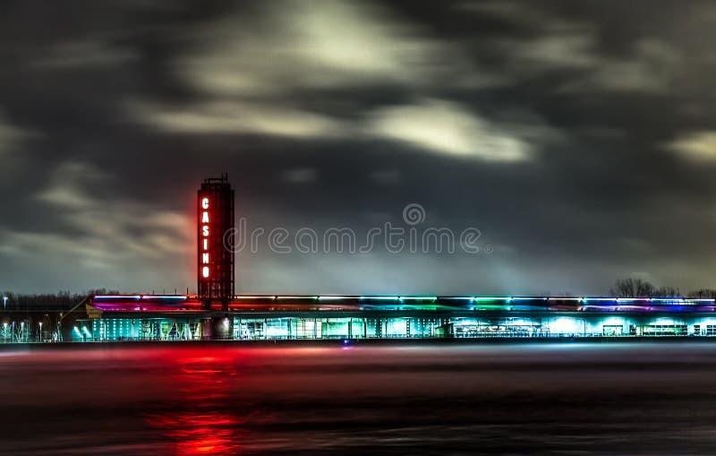 Exterior do casino de Sarnia Ontário Canadá imagens de stock