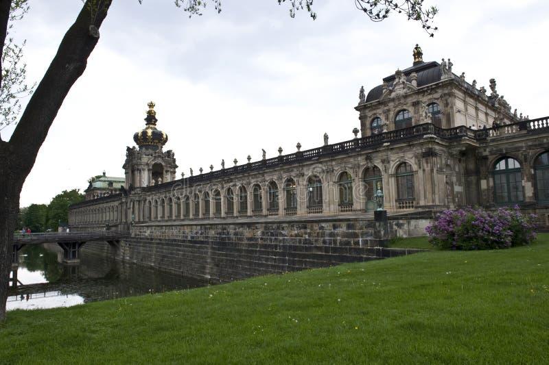 Exterior do palácio de Dresden fotos de stock
