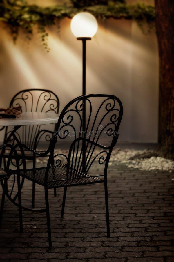 Exterior do restaurante fotografia de stock royalty free