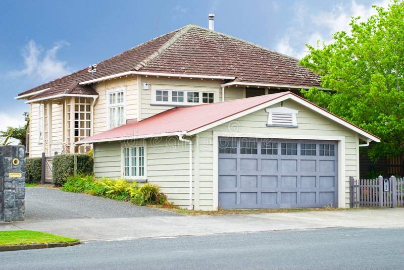 Exterior Of House Stock Images