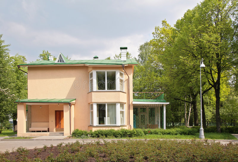 Download Exterior Of House In Suburb Stock Photo - Image: 9292202