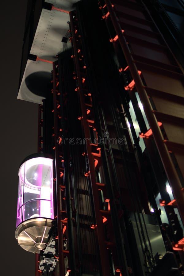 Exterior lift / elevator royalty free stock image