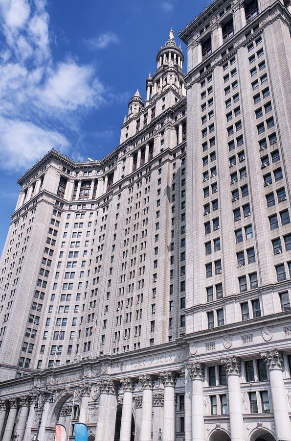 Manhattan Municipal building new york city stock photography