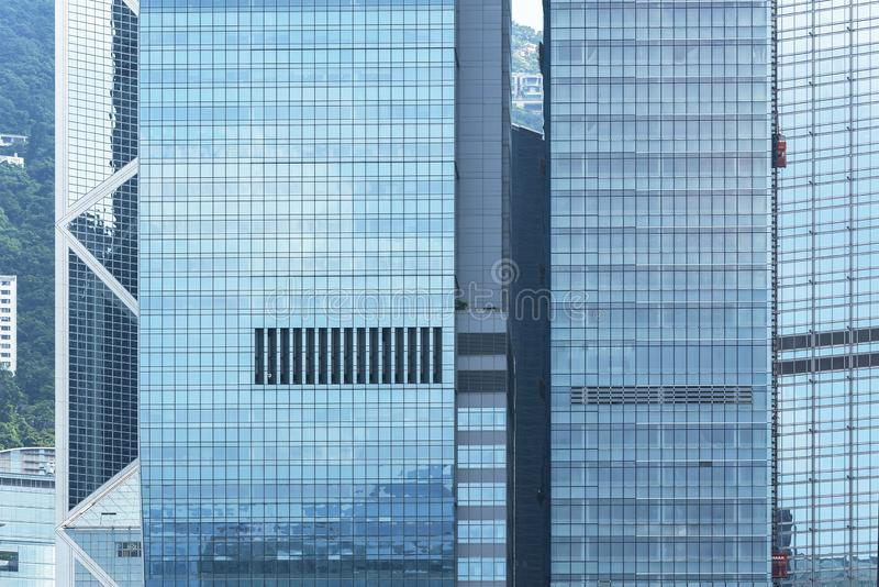 Exterior of modern office building royalty free stock image