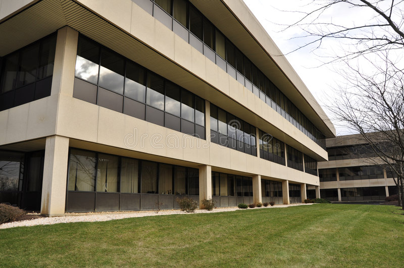 Exterior of modern office building stock photo