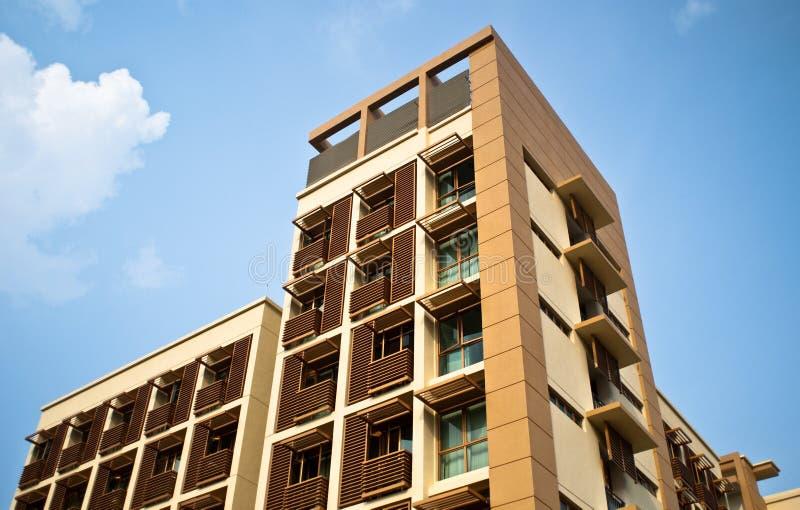 Exterior moderno da arquitetura foto de stock royalty free