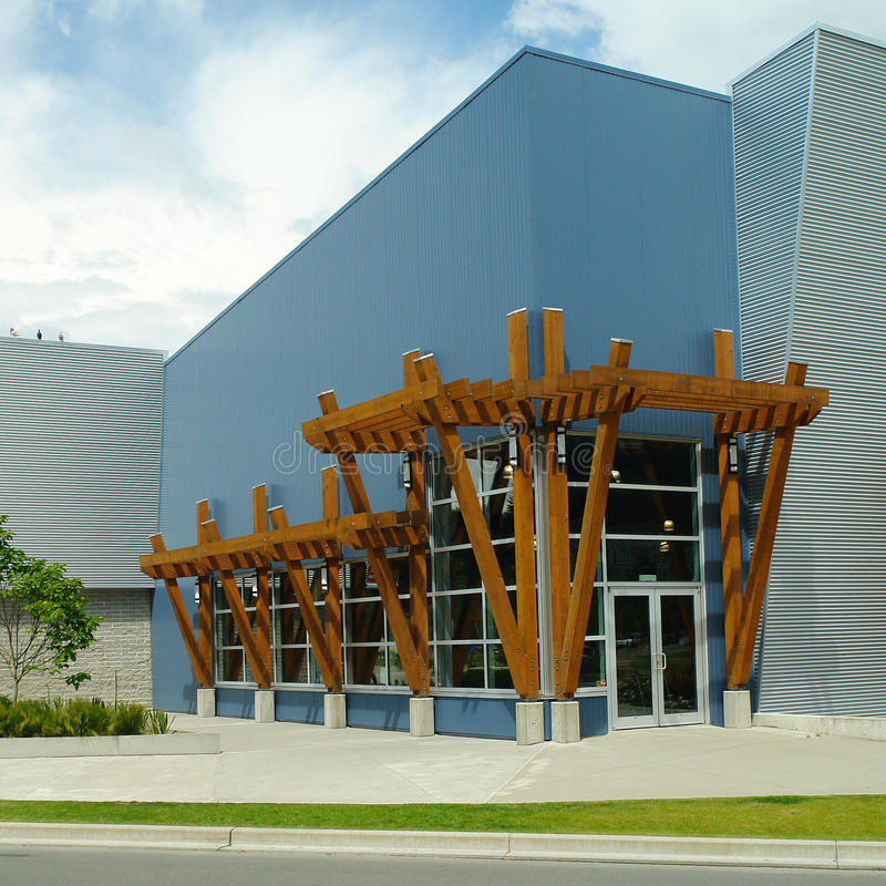 Exterior Of A New Commercial Building