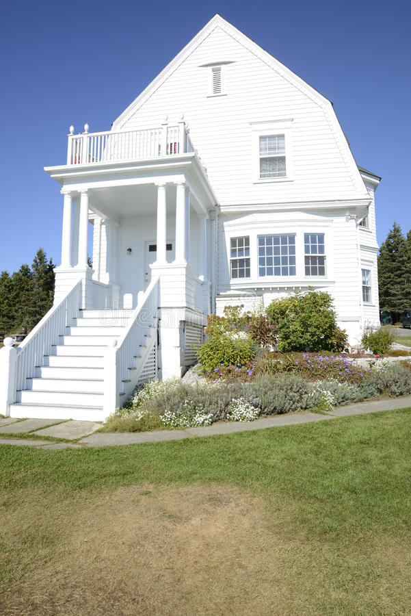 Download Exterior Of An Old House On The Maine Coast Stock Photo - Image of maine & Exterior Of An Old House On The Maine Coast Stock Photo - Image of ...