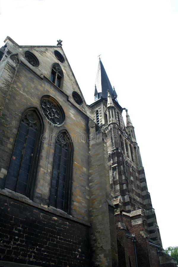 Exterior of the St Petrus in Sittard royalty free stock photos