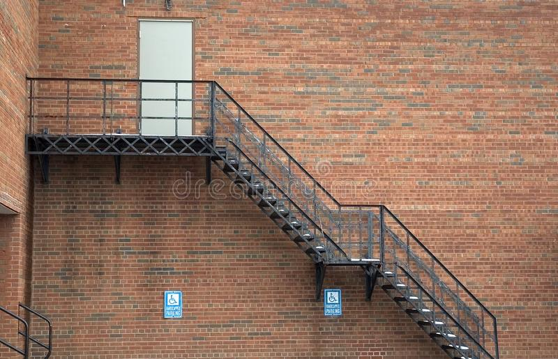 Download Exterior Staicase stock photo. Image of rail, detail, staircase - 58190