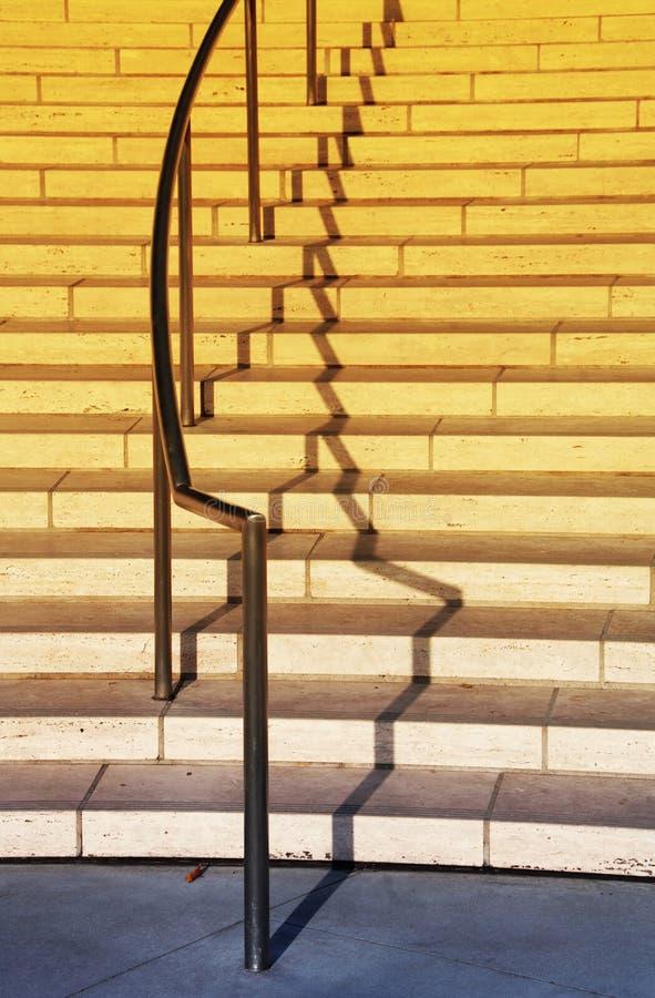 Exterior Staircase And Railing Stock Photos
