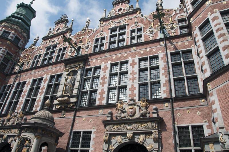 Exterior of stone building royalty free stock photos