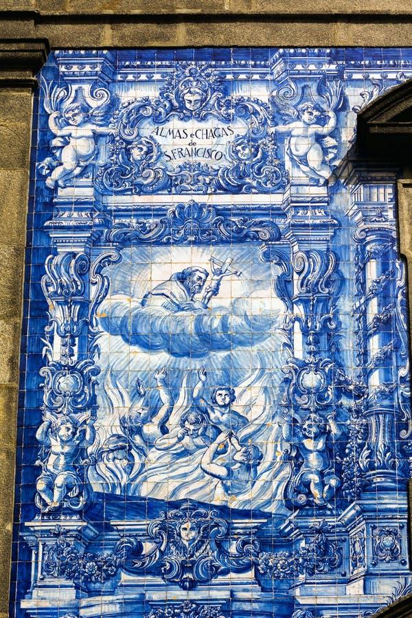 Chapel of Souls, Porto, Portugal royalty free stock photos