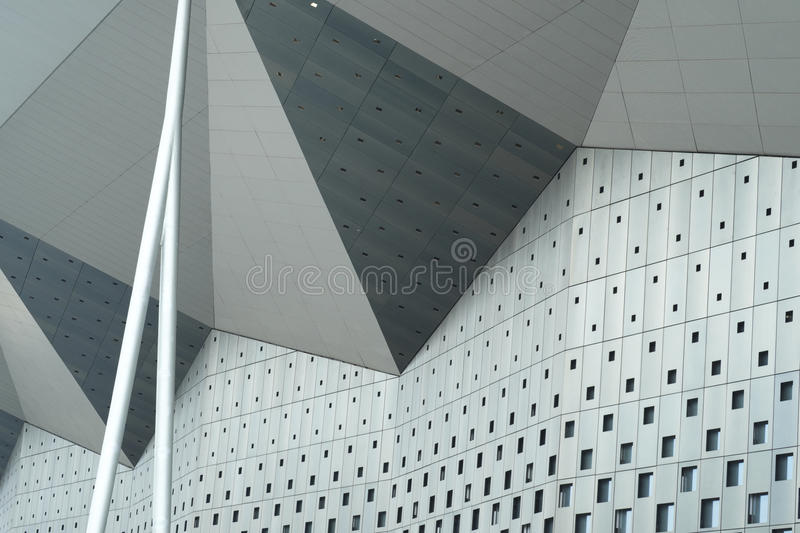 Download Exterior Walls Of Triangles Stock Photo - Image: 25518302