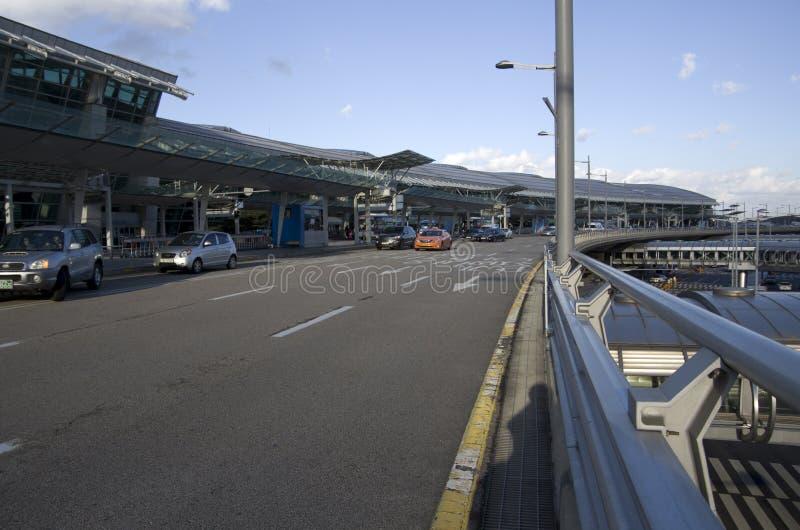 Exteriores del aeropuerto internacional de Inchon fotos de archivo libres de regalías