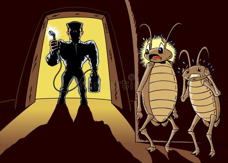 Exterminator иллюстрация вектора