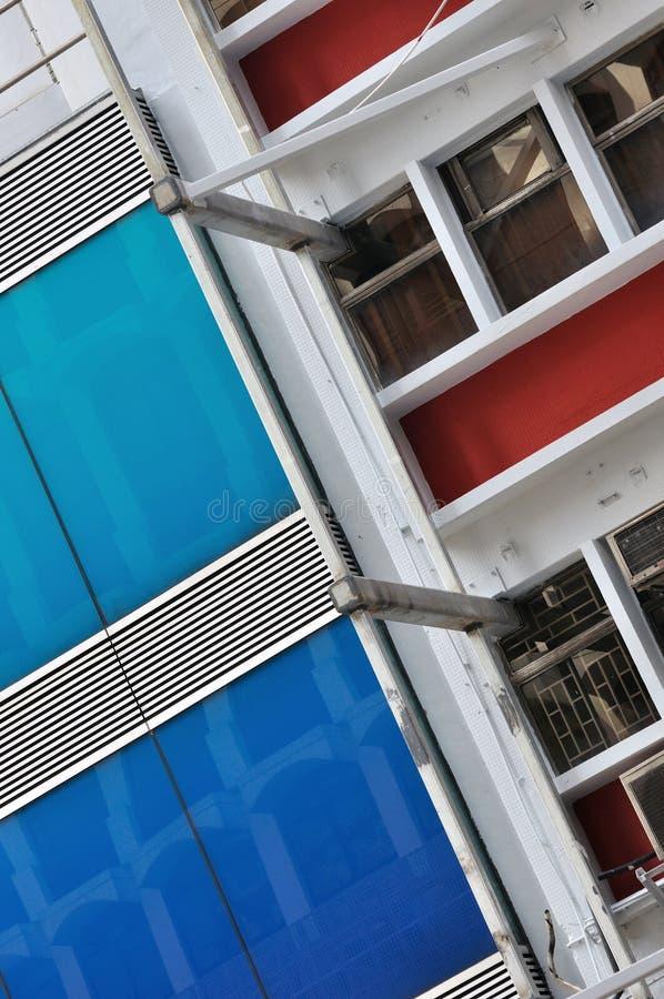 External de la construction de ville photographie stock