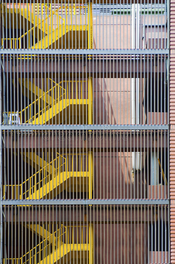 Download External Fire Escape Stairs Stock Photo   Image Of Window, Ladder:  34969702